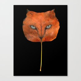 Autumn Cat-4 Canvas Print