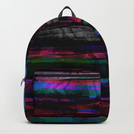 colorful abstract painting Backpack