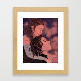 Reylo - Peace Framed Art Print