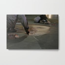 Venus on the Street Metal Print