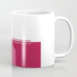 United States Grand Prix Coffee Mug
