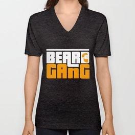 Beard Gang Unisex V-Neck