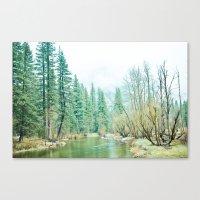yosemite Canvas Prints featuring Yosemite by eugenia k. photography