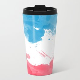 Love of France Metal Travel Mug