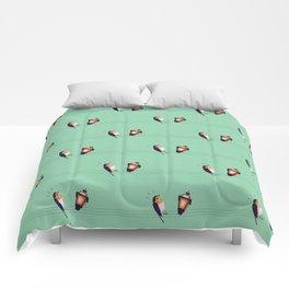 Feeling Wired (Pattern) Comforters