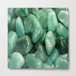 Green Jade Metal Print