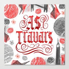 AS TRAVARS Canvas Print