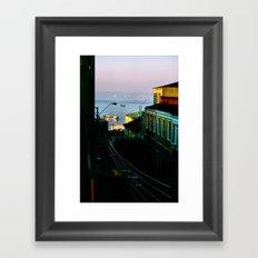 Valparaiso, Chile. Framed Art Print