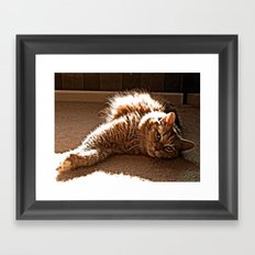 love I Framed Art Print