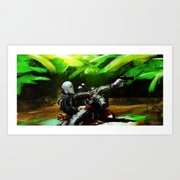 Body Armor Art Print
