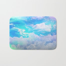sea clouds Bath Mat