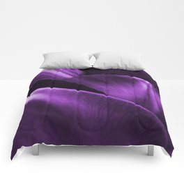 Ultraviolet Flower Petals #decor #society6 #homedecor Comforters
