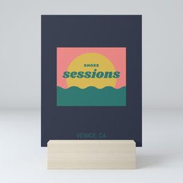 Smoke Sessions Mini Art Print
