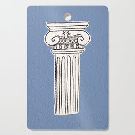 Greek ionic column Cutting Board