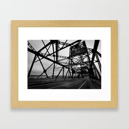 Port of Tacoma 11th St. Bridge Framed Art Print