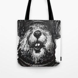 Mr. Beaver Tote Bag