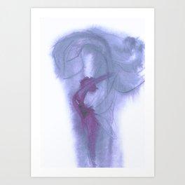 Lilac Spirit Art Print