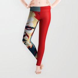 Trump Pop art Leggings