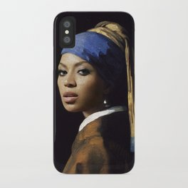 Bey with a Pearl Earring iPhone Case