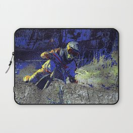 Trail Blazer Motocross Rider Laptop Sleeve