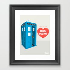 Doctor Who: Long Live the Tenth Doctor Framed Art Print
