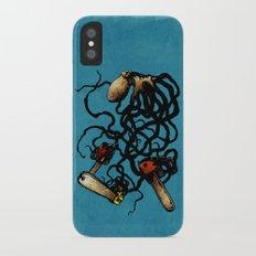 Oceanic Menace iPhone X Slim Case