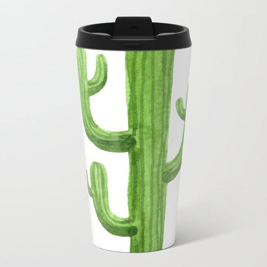 Cactus One Metal Travel Mug