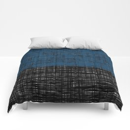 platno (blue) Comforters