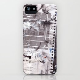 Letter to Paris iPhone Case