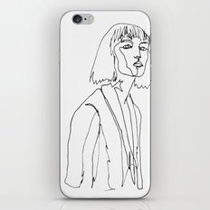 minimal drawing  iPhone Skin