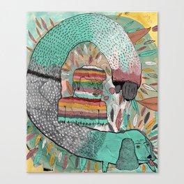 Las Garrapatas de Bruno Canvas Print