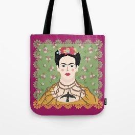 Frida Viva Cushion Tote Bag