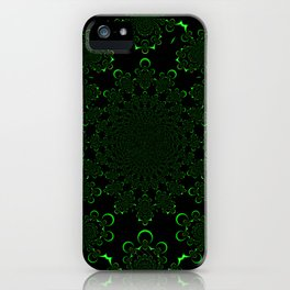 A Kollision of Colliding Tubes iPhone Case