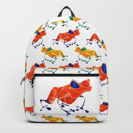 Poison Dart Frog Backpack