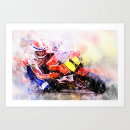 Freddie Spencer Art Print