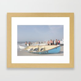 Atlantic City Lifeboats Framed Art Print