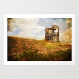 Old Cotton Mill Art Print