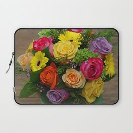 A Touch of Elegance Floral Arrangement Laptop Sleeve