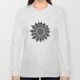 Taj Mahal Mandala Long Sleeve T-shirt