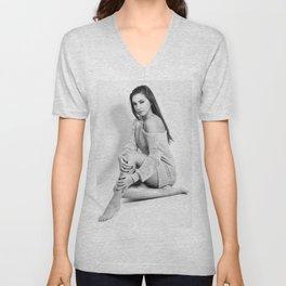 Fashion Illustration - Viviana Unisex V-Neck
