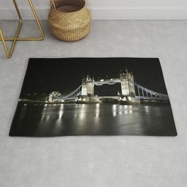 Tower Bridge is one of five London bridges now owned and maintained by the Bridge House Estates Rug