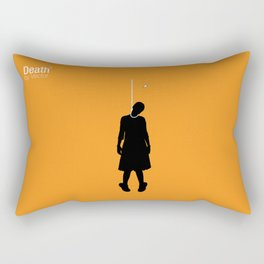 Death by Vector Rectangular Pillow
