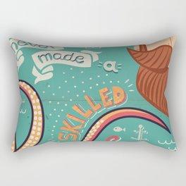 A Smooth Sea Never Made A Skilled Sailor Rectangular Pillow