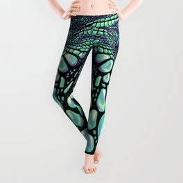Iguana black Leggings