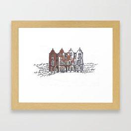 York, England Framed Art Print
