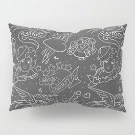 Old tattoo pattern Pillow Sham