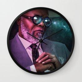 """Samuel """"The Warlock"""" L. Jackson Wall Clock"""