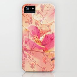 Lightfull Orchid behind little Flowers iPhone Case