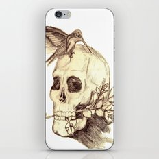 flying away with the time iPhone & iPod Skin