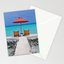 Maldives Beach Vibe Stationery Cards